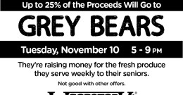 Woodstock's Pizza supports Grey Bears