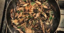 Mushrooms!...and Polenta