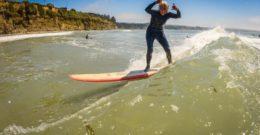 Surf's always up for Nola Moosman