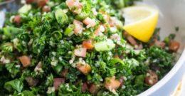 Parsley and Bulgur Salad (tabbouleh)